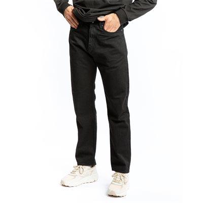 Straight fit | Jeans | Svart